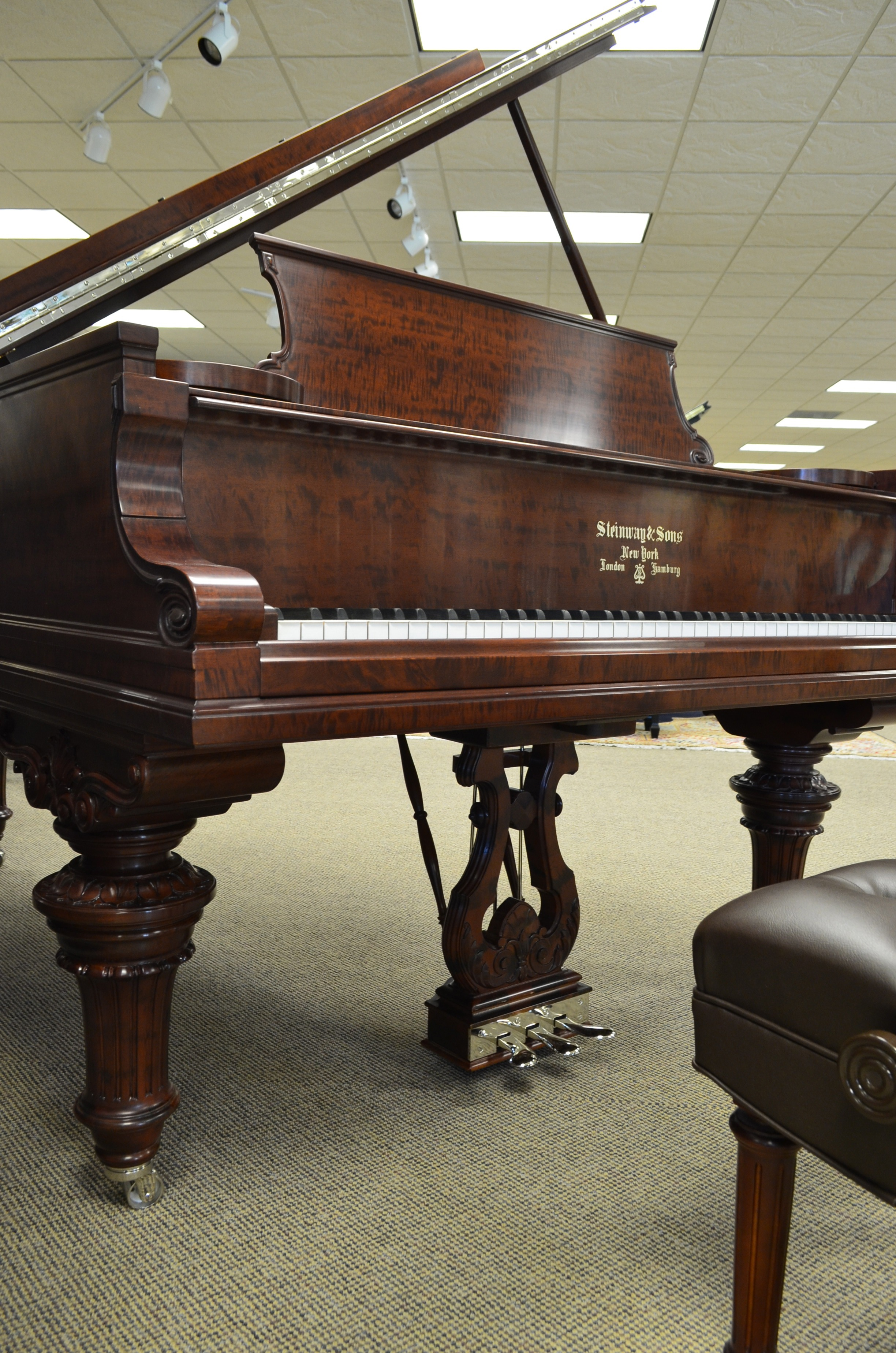 Featured Pianos Two Steinway Grands Freshly Restored