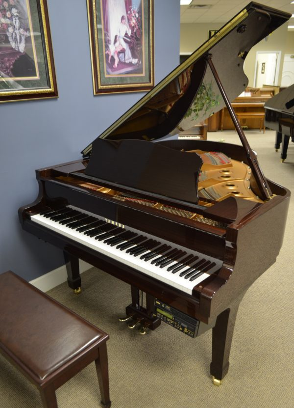 Featured piano 2001 yamaha dc2 grand with disklavier for Yamaha disklavier grand piano